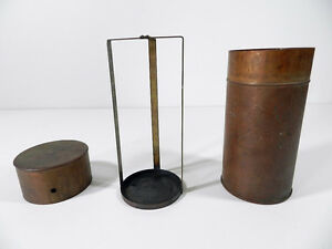 Copper Canister Science Chemist Lab Laboratory Dipping Container