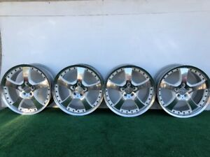 Rare Mercedes Benz Lorinser Lm 5 19 Genuine Factory Oem Wheels Rims Set Of 4