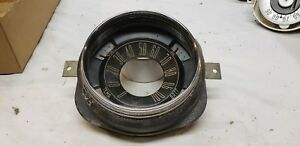 Nos 1949 Ford Speedometer Housing Gauge Cluster Fuel Oil