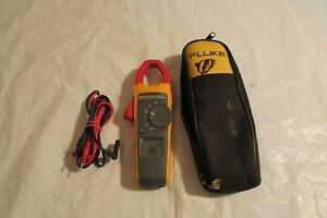 Fluke 373 True Rms Ac dc Clamp Meter And Lead 1