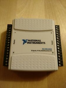 Ni National Instruments Usb 6009 Data Acquisition Daq Card Multifunction For Usb