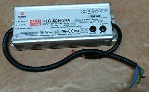 Mean Well Led Driver Hlg 60h 24a 60w 100 240v