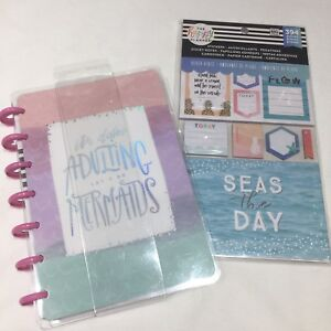 Mini Happy Planner Happy Notes Mermaids Beach Vibes Sticky Notes Stickers Lot