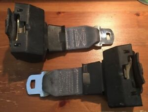Buick Grand National Gnx 1985 1987 Rear Seat Belt Set Good Condition