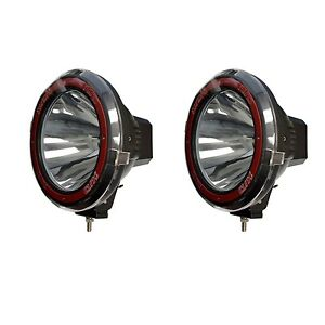 9 Inches 4x4 Off Road 6000k 55w Xenon Hid Fog Lamp Light Spot 2pcs