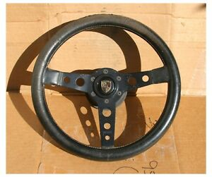 Vintage Momo Prototipo Rat Porsche 901 911 912 Sc St Rs Steering Wheel 350mm