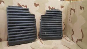 1986 1988 Pontiac Fiero Gt Right Left Pair Engine Vent Grate Grill Fastback Oem