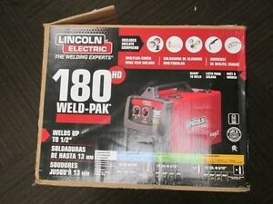Lincoln Electric K2515 1 Weld Pak 180hd 180 Amp Mig Wire Feed Welder See Descrip