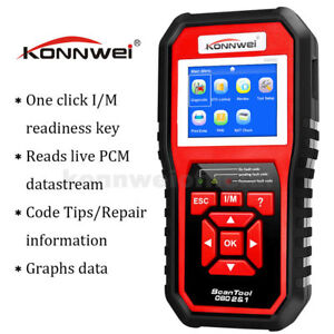Konnwei Kw850 Obd2 Obdii Obd Ii Automotive Code Scanner Car Diagnostic Tool