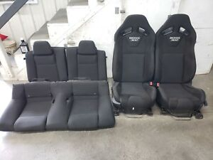 2013 2014 Ford Mustang Boss Cloth Recaro Seats Front Back Oem