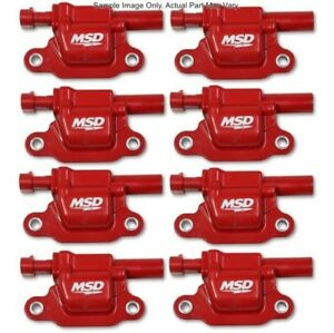Msd 82668 Blaster Gen V Coils For 2014 Gm Red Square 8 Pack