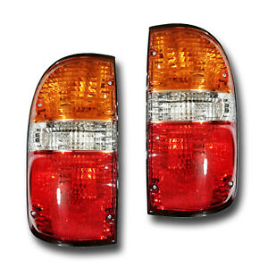 Fits 01 04 Toyota Tacoma Driver Passenger Side Tail Light Lamp Assembly 1 Pair