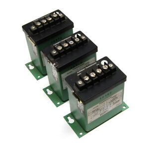 lot Of 3 Flex core Ct5 005a Current Transducers 115vac Input 0 5a