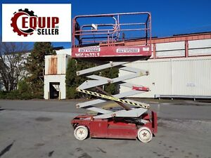 2008 Mec 2633es Electric 26ft Scissor Lift Man Aerial Boom Lift