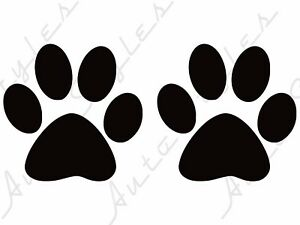 Sale Paw Prints Sticker Decal Car Truck Laptop Cute Puppy Silly Dog Vinyl