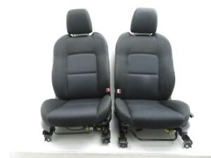 06 07 Mazdaspeed Mazda 6 Speed Front Left Right Seat Chair Pair Black Cloth