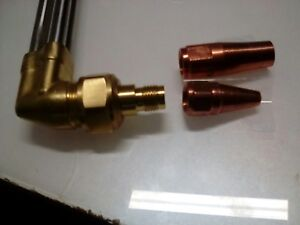 Att Copyst1600cutting Torch And American Torch Tip Cutting And Heating Head Set