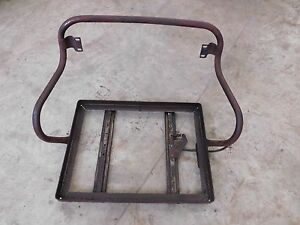 International Farmall 300 Utility Adjustable Seat Frame Antique Tractor