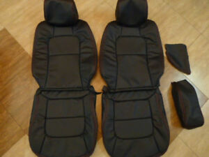 1992 1998 Lexus Sc300 Sc400 Leather Replacement Seat Covers Black