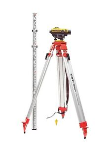 Demo Cst berger Sal 24x Auto Level Kit 300ft Working Range