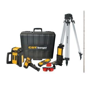 Demo Cst berger Rl25hvck Rotary Laser Complete Kit