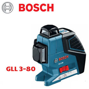 Demo Bosch 3 Gll3 80 And Plane Laser Line Leveling Alignment