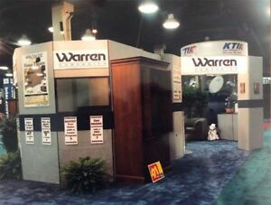 Exhibit Booth With Office