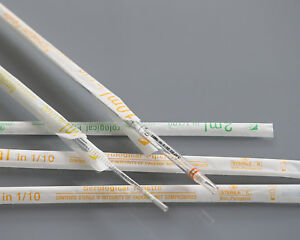 1ml Serological Pipettes Individually Wrapped sterile 50 500 pk