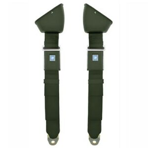 1968 72 Chevelle Retractable Lap Seat Belts Oe Style Military