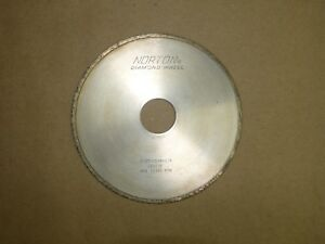 Norton Diamond Grinding Wheel D100 n50m 1 8 Used Excellent Condition
