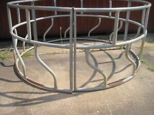 2 Piece Bale Feeder For Live Stock