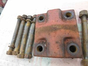 Case Sc Rear Axle Wheel Clamp With Bolts Antique Tractor