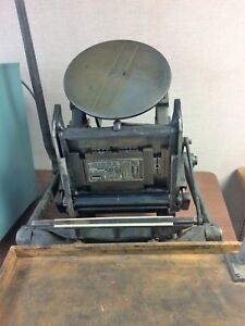 Chandler And Price Table Top Pilot 6 1 2 X 10 Letterpress Printing Press