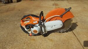 Stihl Ts420 Gas Concrete Cut off Saw With 14 Blade Fast Shipping