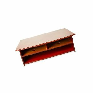 Rolodex Wood Tones Collection Printer Stand Mahogany 82437