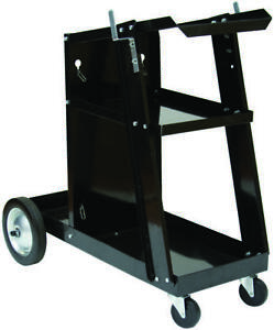 Forney Industries 332 Portable Welder Cart With Cylinder Rack 3 levels 11 1 2