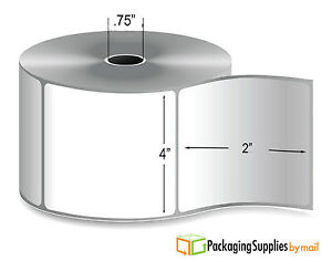 Direct Thermal Label Mobile Roll Perforated 0 75 Core 4 X 6 300 rl 180 Rolls