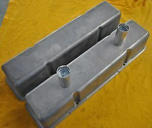 Sbc Chevy Aluminum Raw Valve Covers Circle Track Dirt
