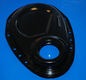 Timing Chain Cover Sbc Chevy Black 383 406 305 327 350 Small Block Chevy