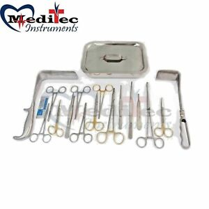 Cesarean Section Surgical Instruments Kit Brand New