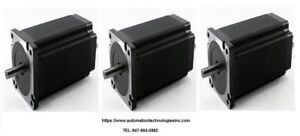 3pc Nema42 Hybrid Stepper Motor 2830 Oz in 6 0a Single Shaft kl42h2150 60 4a