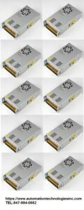 10pc12v Dc 29 6a 360w Regulated Switching Power Supply usa Instock