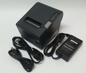 Epson Tm t88v Thermal Receipt Printer M244a Usb Serial W ps 180 Power Usb Cable
