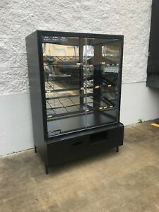 Used 48 Glass Bakery Donuts Display Cabinet Bakery Grocery