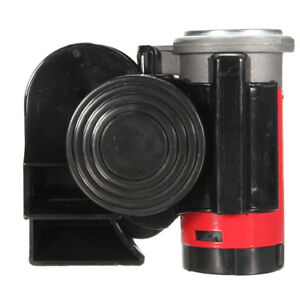 Horn Snail Compact Air Horn For Car Vehicle Motorcycle Boat Bike