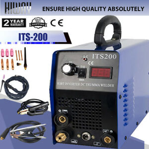 Igbt Housing Tools Tig mma Hiway Ws200 110 220v 2in1 Wig Weding Welder Machine
