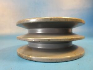 Browning 2tb38 Split Taper Sheave Cast Iron 2 Groove double Pulley A Or B Belt