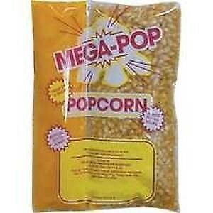 Gold Medal Mega Pop Corn oil salt Kettle Kit 6 Oz Pack Yellow