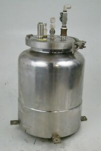 Stainless Stainless Steel Pressure Vessel Keg 6 Tri clamp Lid Plsw 1