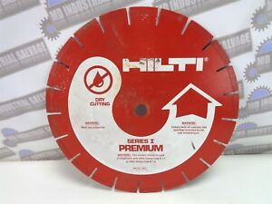 new Hilti 12 Diamond Blade Db dm3 12x 125x20 Dry Cutting Series I Premium